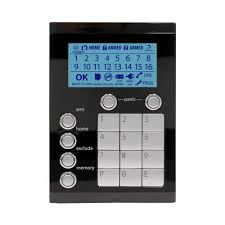 alarm repairs melbourne ness black keypad