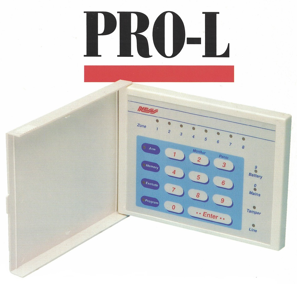 alarm repairs melbourne alarms ness prol keypad